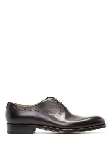 %100 Deri Bağcıklı Klasik Ayakkabı-Fabi